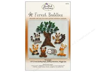 Projects & Kits MAMBI Kit Scrapbook: Quilled Creations Quilling Kit Forest Buddies