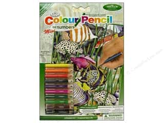 Royal Rub Ons Royal Colour Pencil by Number: Royal Colour Pencil by Number Mini Underwater