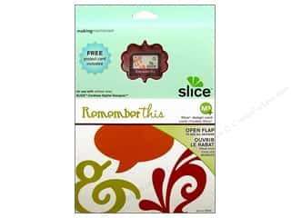 Making Memories inches: Slice Design Card Making Memories MS+ Remember This