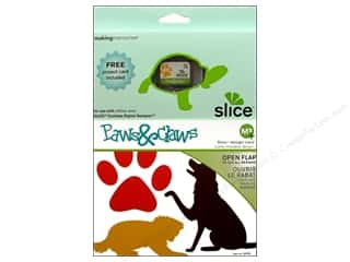 Cartridges Animals: Slice Design Card Making Memories MS+ Paws & Claws