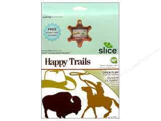 Making Memories ABC & 123: Making Memories Slice Design Card Happy Trails