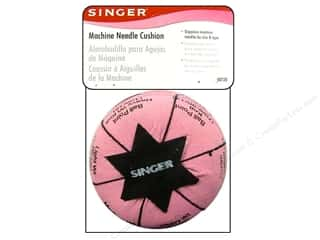 Brothers Singer Machine Needle: Singer Notions Machine Needle Cushion Pink
