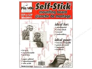 "Ribbon Work Size: Pres-on Self-Stick Hi-Tack Mount Board 11""x 14"""