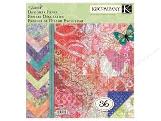 K&amp;Co Paper Pad 12x12 Jubilee Designer