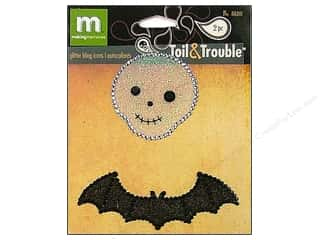 Weekly Specials Halloween Stickers: Making Memories Stickers Bling Icon Toil&Trouble