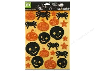Weekly Specials Halloween Stickers: Making Memories Stickers Toil&Trouble Foam Icons