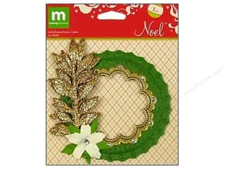 Making Memories Embellishments Embellished Frame Noel