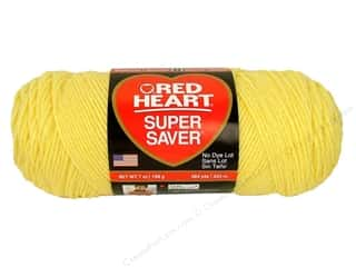 Red Heart Super Saver Yarn #0235 Lemon 7 oz.
