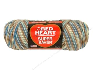 Multi Colored Yarn: Red Heart Super Saver Yarn Mirage 5 oz.