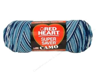Red Heart Super Saver Yarn #0970 Dress Blues 5 oz.