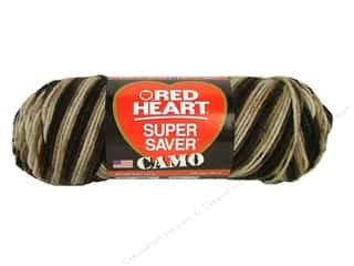 Red Heart Super Saver Yarn #0988 Platoon 5 oz.