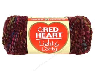 Red Heart Light &amp; Lofty Yarn Wine Country Multi 4.5 oz.