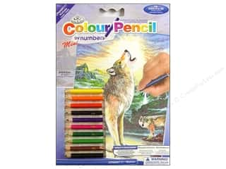 Royal Colour Pencil by Number Mini Wolf