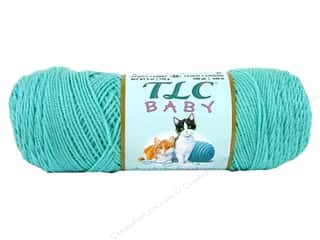 Coats & Clark TLC Baby Yarn 6oz 490yd Calm Blue