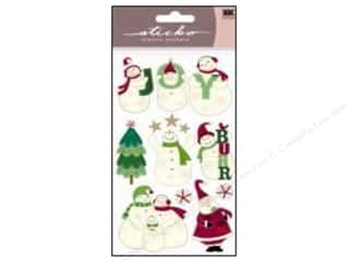 EK Sticko Stickers Joyful Snowmen