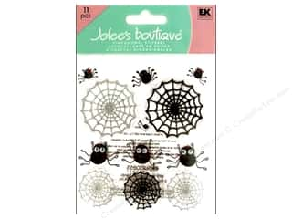 Jolee's Boutique Stickers Cute Spiders And Webs