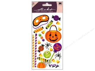 Halloween inches: EK Sticko Stickers Halloween Sweets