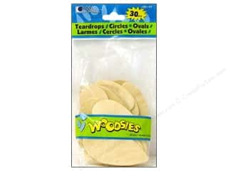Forster Woodsies Jumbo Shapes 30pc