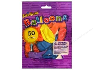 PNL Balloons Funsational 7&quot; Assorted 50pc