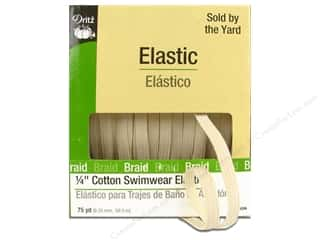 Weekly Specials Graphic 45: Swimwear Elastic Cotton by Dritz Natural 1/4 in x 75 yd (75 yards)