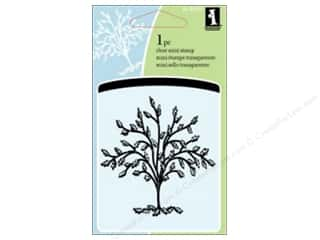 Scrapbooking & Paper Crafts  Stamps  Rubber Stamp: Inkadinkado Clear Stamp Mini Tree