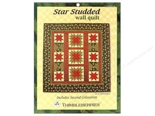 Thimbleberries: Thimbleberries Star Studded Wall Quilt Pattern