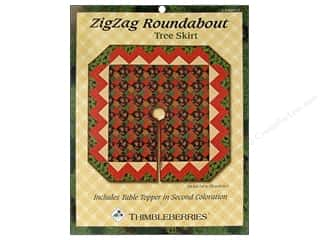 ZigZag Roundabout Tree Skirt Pattern