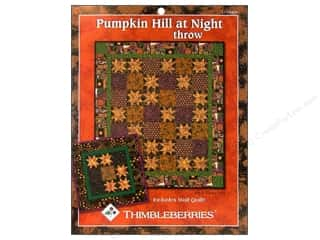 Pumpkin Hill At Night Pattern