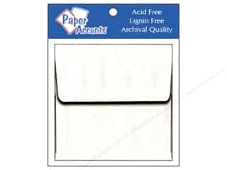 Paper Accents Paper Accents Envelopes: 2 1/4 x 2 1/4 in. Envelopes by Paper Accents 15 pc. #128 White