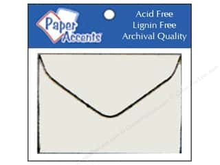 Paper Accents Envelopes 1.75x2 3/8 Vellum 10pc