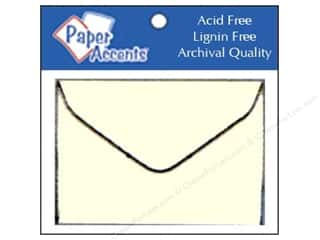Scrapbooking $8 - $15: 1 3/4 x 2 3/8 in. Envelopes by Paper Accents 15 pc. #119 Cream