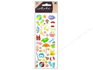 sticker: EK Sticko Stickers Puffy Citronella