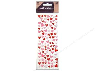 Independence Day EK Sticko Stickers: EK Sticko Stickers Puffy Hearts