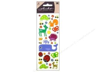 Animals: EK Sticko Stickers Puffy Animals