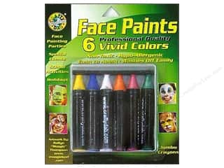 Crafty Dab Face Paint Jumbo Crayon Set Vivid