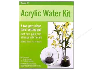 Floral Supplies FloraCraft Water Beads Dehydrated: FloraCraft Acrylic Water Kit 8oz