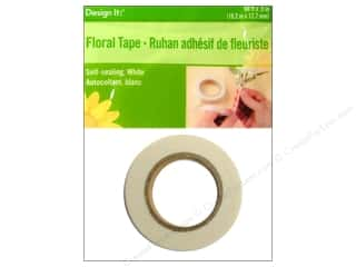 Tapes Floral Arranging: FloraCraft Floral Tape White 0.5 in. x 60 ft.