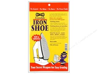 Pressing Cloths / Pressing Sheets: Bo-Nash Ironslide Iron Shoe Silver