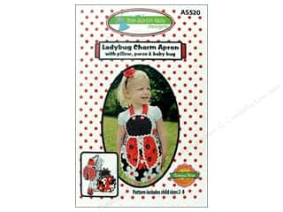 Table Runners / Kitchen Linen Patterns: Ladybug Charm Apron Pattern