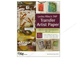 Transfers 11 in: C&T Publishing Lesley Riley's TAP Transfer Artist Paper 8 1/2 x 11 in. 5 pc.