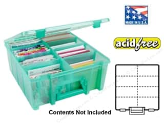 Brandtastic Sale ArtBin: ArtBin Super Satchel Double Deep Translucent Teal