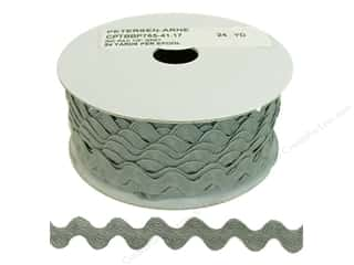 "Cheep Trims Ric Rac 11/16"": Ric Rac by Cheep Trims  11/16 in. Grey (24 yards)"