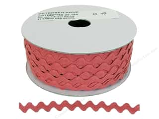 "Cheep Trims Ric Rac 1/2"": Ric Rac by Cheep Trims  1/2 in. Antique Mauve (24 yards)"