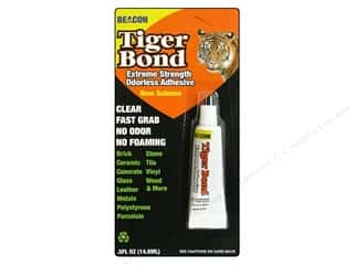 therm o web foam adhesive: Beacon Glue Tiger Bond .5oz Carded