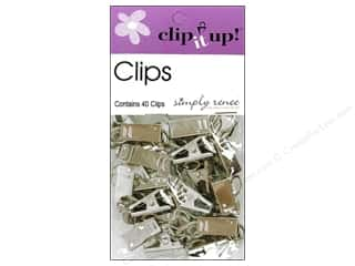 Simply Renee Clip It Up Clips 40pc