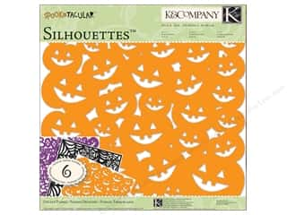 "Fruit & Vegetables Height: K&Company Paper Packs 12""x 12"" Spooktacular Silhouettes"