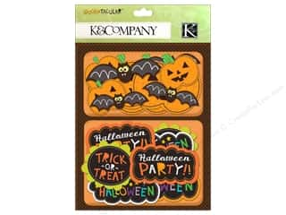 K&Co Layered Accents Spooktacular Words & Pumpkins