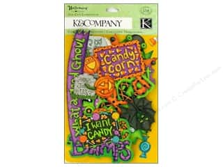 K&Co Die Cut TC Halloween Word