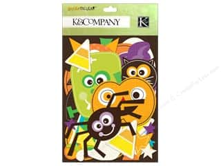 Fruit & Vegetables Scrapbooking & Paper Crafts: K&Company Die Cut Cardstock Spooktacular Icons