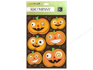 K&amp;Co Grand Adhesions Spooktacular Jack O Lantern